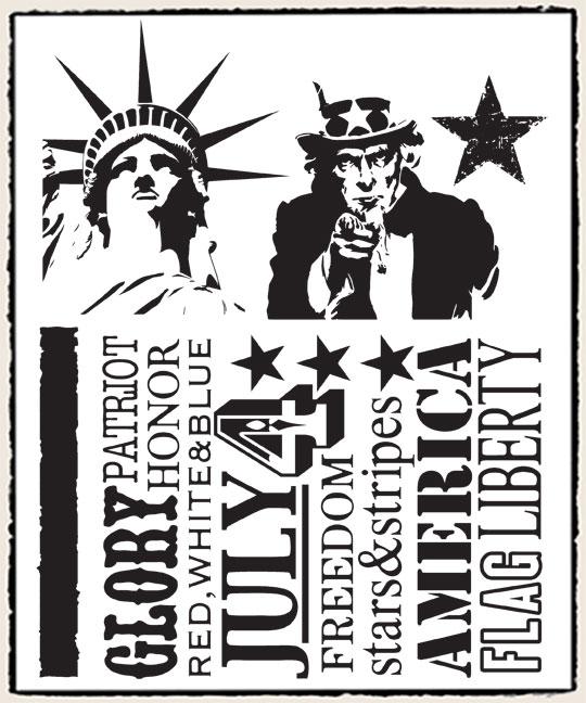 CMS122americanasilhouettes